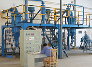 Flour mill for neodymium magnets