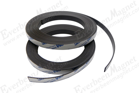 magnetic strip, Flexible magnetic strip, Flexible magnetic strip with adhesive