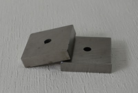 Cast Alnico magnet with hole