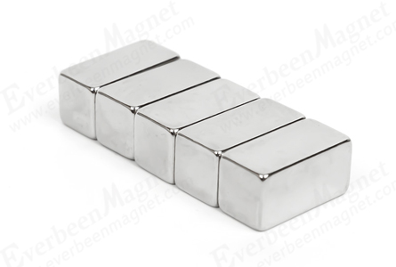 block neodymium fridge magnet